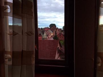 Гостиница Ludza. Номер 3. Вид из окна