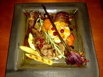 Ресторан Lasite. Филе говядины