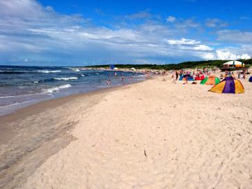 Пляж. Паланга, Литва, август 2016