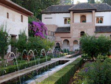 Хенералифе, Альгамбра, Гранада, 2010