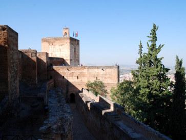 Алькасаба, Альгамбра, Гранада, 2010