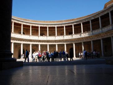 Дворец Карлоса V. Альгамбра, Гранада, 2010