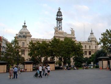 Почтамт. Валенсия, Испания. 2010
