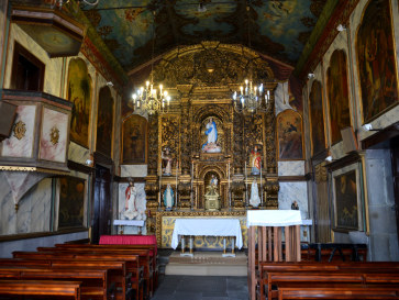 Капелла непорочного зачатия Девы Марии, Камара де Лобуш, 2016