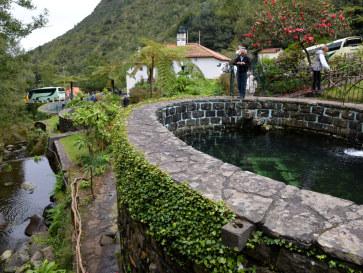 Форелевая ферма.  Рибейру Фриу. Мадейра. 2016