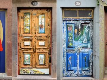 Двери. Зона Велья. Фуншал, Мадейра, 2016