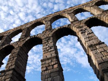 Римский акведук. Сеговия, Испания, 2010