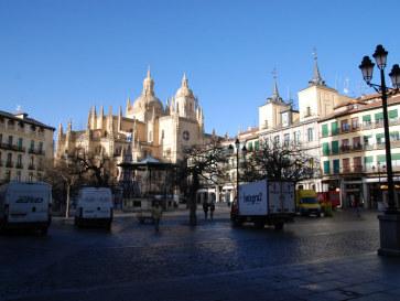 Plaza Mayor. Сеговия, Испания, 2010