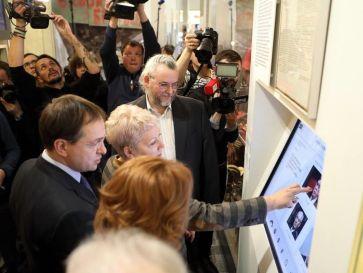 Открытие выставки 12 декабря 2016. ГЦМСИР. 2016. Фото: www.sovrhistory.ru