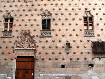 Дом с ракушками. Саламанка, Испания. 2011