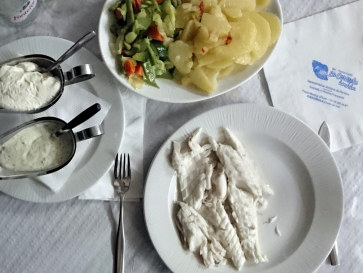 Рыба. Ресторан La Caracola. Фуэнхирола, 2017