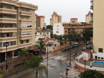 Вид с балкона. Гостиница Veramar. Фуэнхирола. 2017
