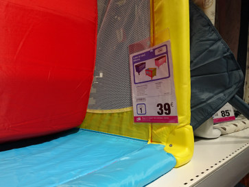 Цены на детские кроватки-манежи в Carrefour.  Фуэнхирола, 2017