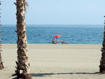 Пляж. Эстепона. Испания, 2017.