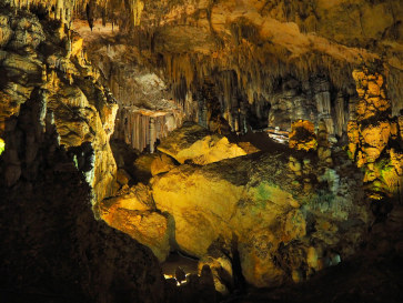 Пещера в Нерхе, Испания, 2017