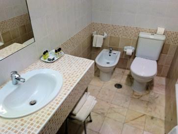 Ванная. Гостиница Tivoli Sintra. Синтра, 2017