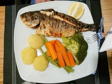 Рыба. Ресторан Alphonso`s. Картейра, 2017