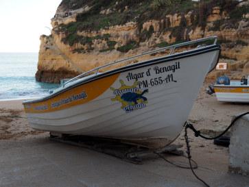 Нескоростная лодка. Алгарве, 2018