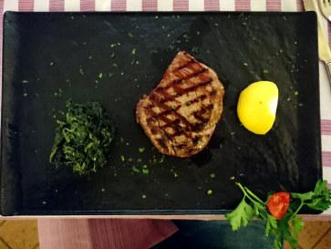Филе говядины. Ресторан Al Cavallo, 2018