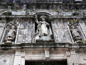 Собор в Сантьяго де Компостелла. Испания, 2011