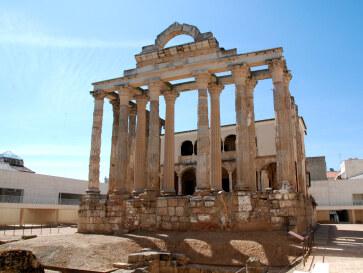 Храм Дианы. Мерида, Испания, 2011