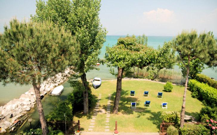Озеро Гарда с балкона