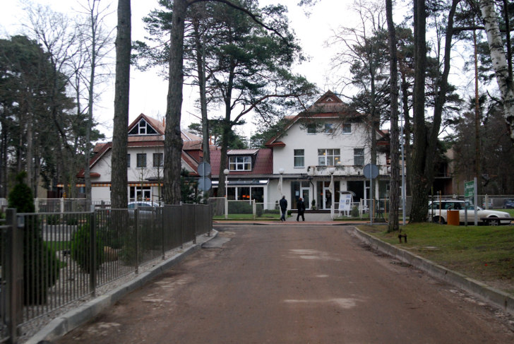 Гостиница Vandenis. Январь 2009