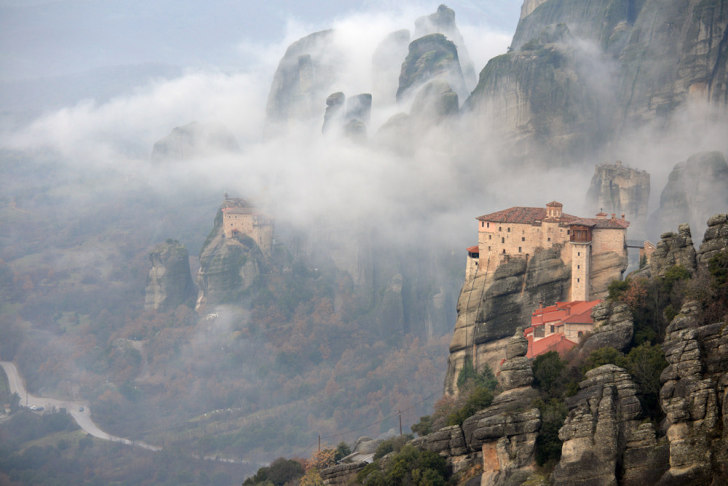 Монастырь Святой Варвары. Метеора. Греция