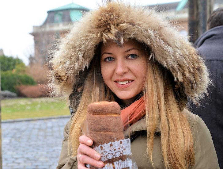 Традиционная трансильванская булочка