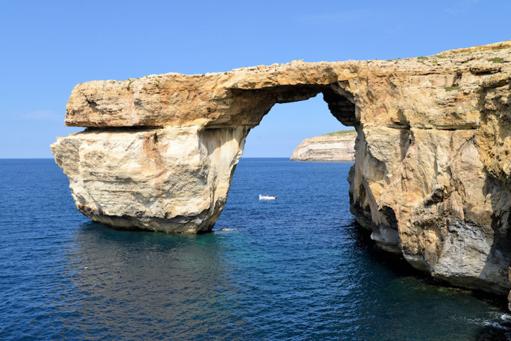 Лазурное окно (Azure Window). Гозо, Мальта