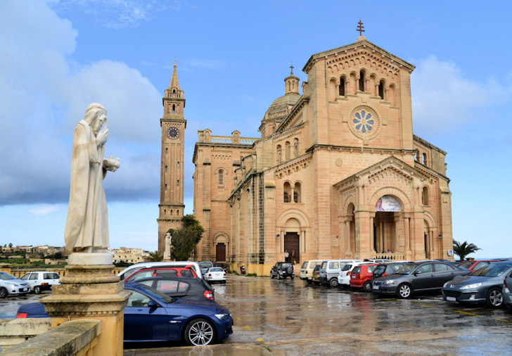 Церковь Ta Pinu. Гозо, Мальта