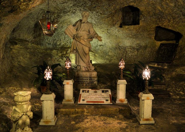 Грот Св.Павла. Рабат. Мальта