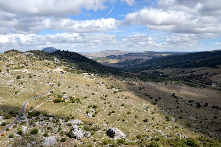 Сьерра де Грасалема. Испания
