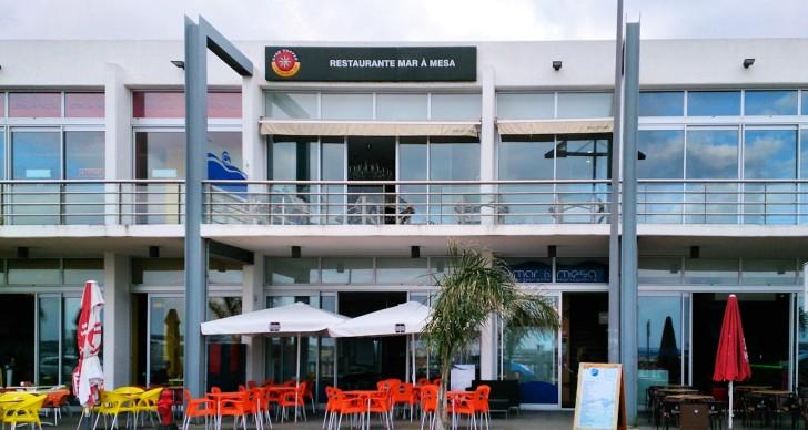 Ресторан Mar a Mesa. Внешний вид