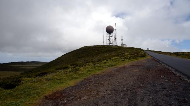 Пико Альто - самая высокая точка острова Терсейра