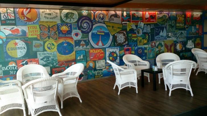 Peter Sport Cafe в аэропорту Орты. Фаял. Азоры