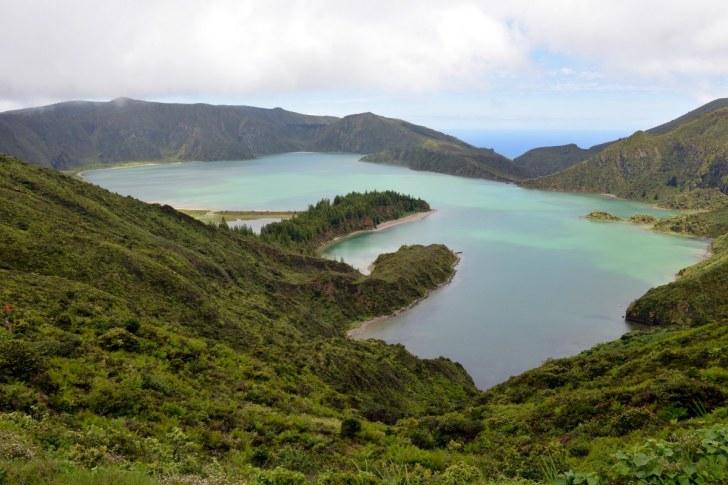 Lagoa Fogo. Сан Мигель