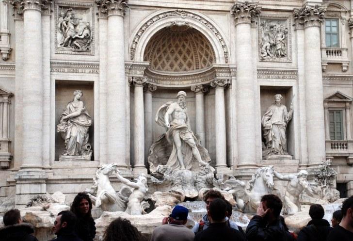 Фонтан Треви. Рим. Италия