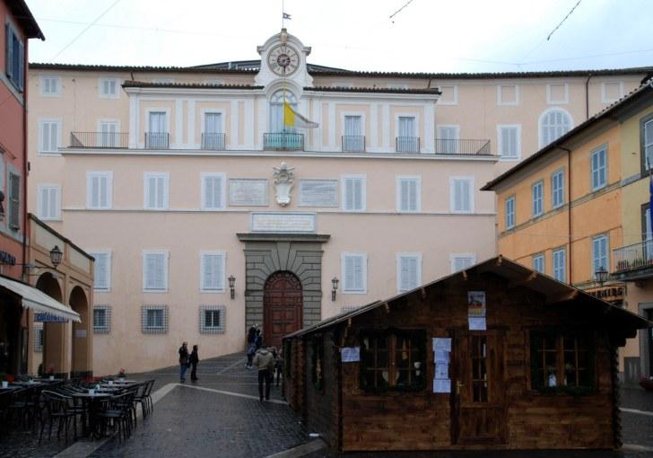 Дворец Понтифика. Кастел Гандольфо. Италия, 2010