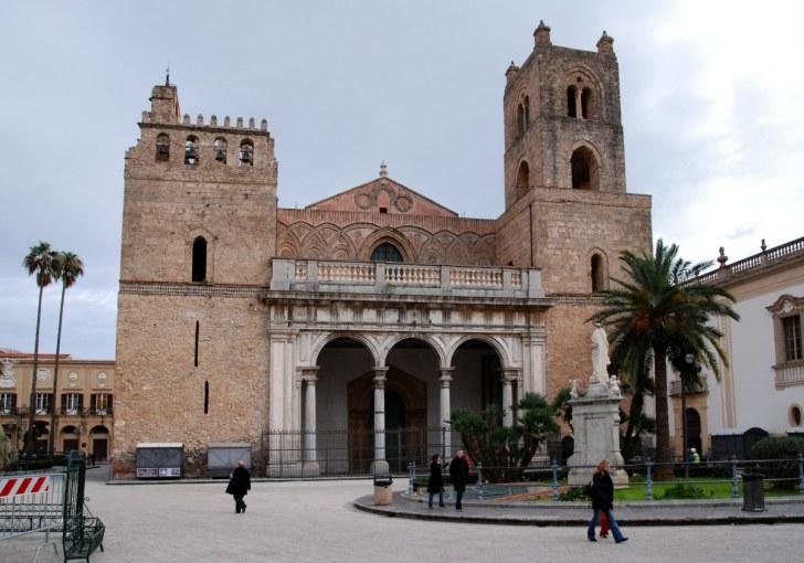 Кафедральный собор в Монреале. Сицилия. 2010