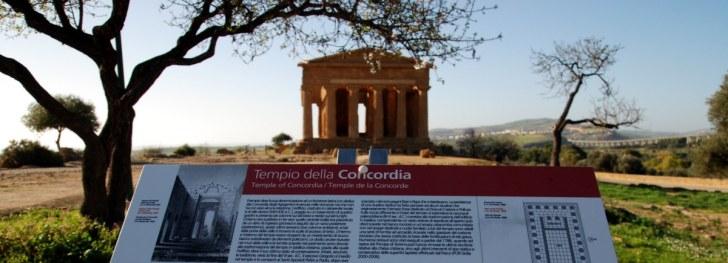Храм Конкордия. Агридженто. Сицилия. 2010