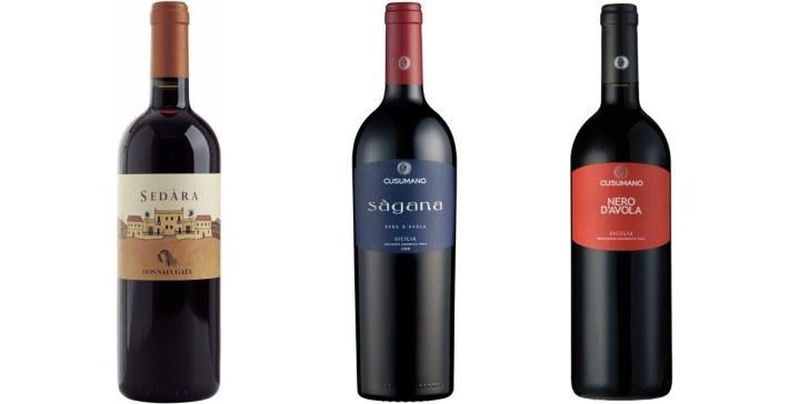Сицилийские вина из винограда Nero dAvola