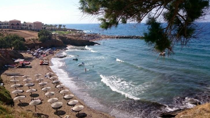 Пляж в Панормо. Крит