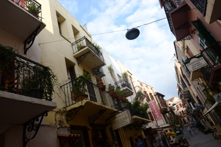 Район Топанас. Старый город. Ханья, Крит. 2015