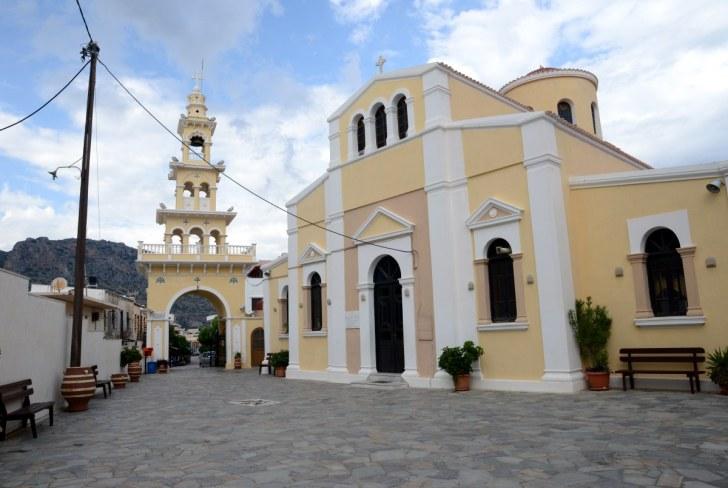 Церковь Изодия Феотоку. Палеохора, Крит. 2015