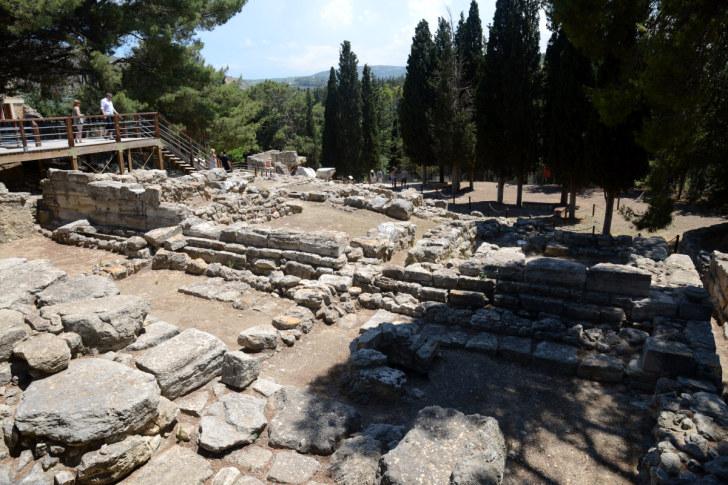 Руины Кноссоса. Крит, 2015