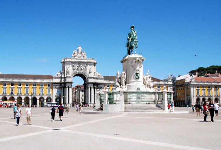 Площадь Коммерции. Лиссабон, Португалия. 2010