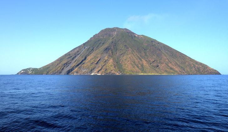 Остров Стромболи. Липарские острова. Италия. 2015