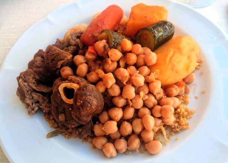 Рестован Gna Sara. Мясной кускус