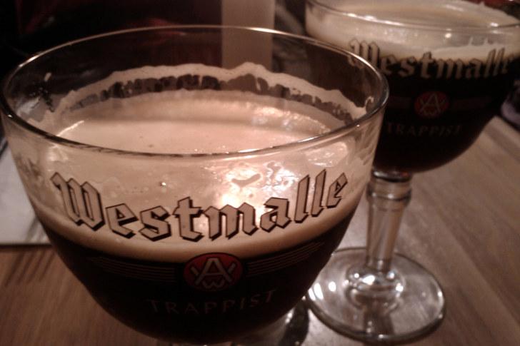 Пиво в ресторане Bliss (Копенгаген, Дания)